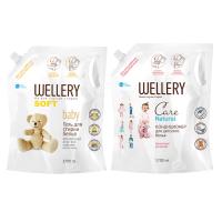 WELLERY Soft Baby 1.7 л + WELLERY Care Natural 1.7 л