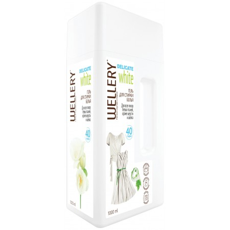 WELLERY DELICATE White, 1 л