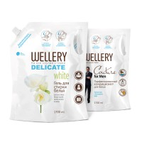 WELLERY Couture for Men 1.7 л + WELLERY Delicate White 1.7 л