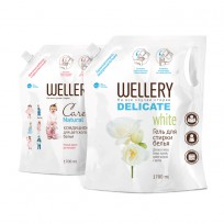 WELLERY Delicate White 1.7 л. + WELLERY Care Natural 1.7 л